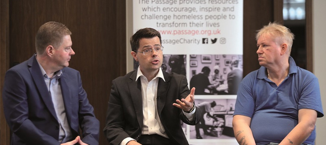 James Brokenshire is Secretary of State for Housing