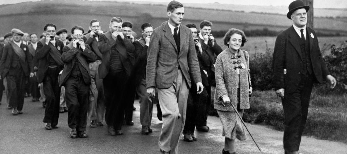 The Jarrow marchers