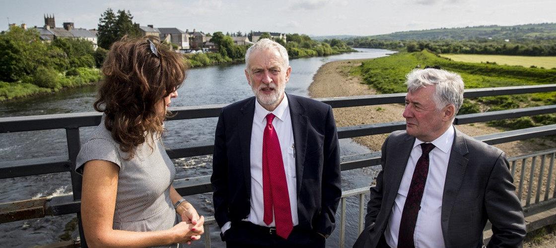 Jeremy Corbyn in Northern Ireland