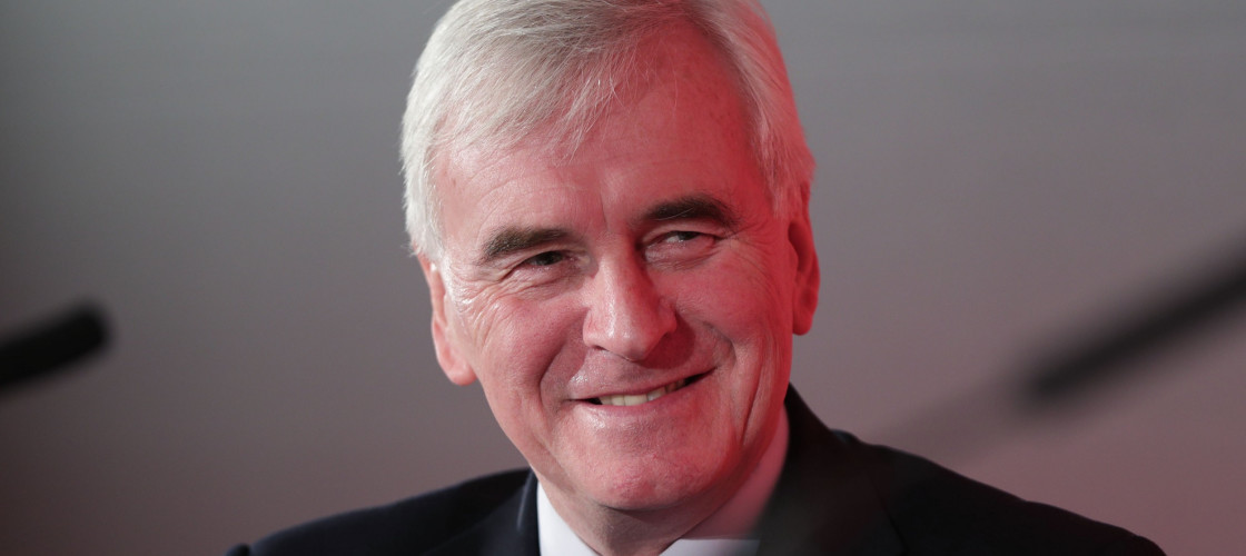 John McDonnell is the Shadow Chancellor