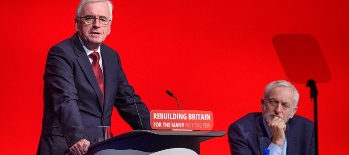 Labour have pledged to nationalise rail, water, energy and mail