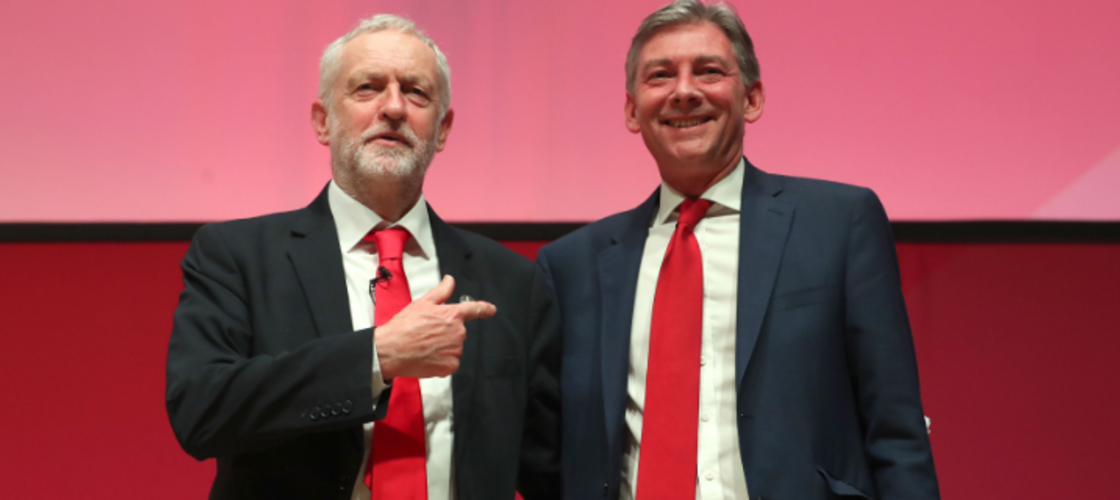 Jeremy Corbyn and Richard Leonard
