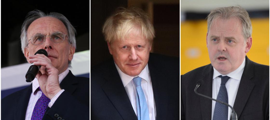 Peter Bone, Boris Johnson, Guto Bebb