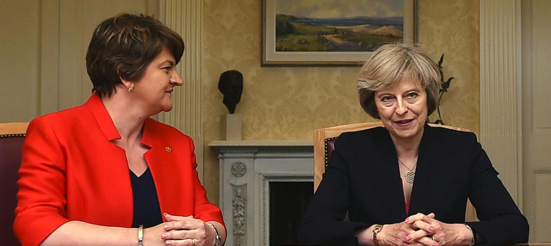 DUP threat to vote down Budget if Brexit demands on Irish border not met