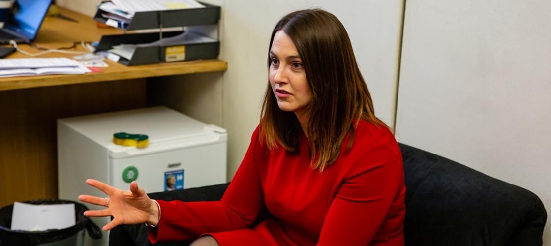 Melanie Onn is a minister in the shadow housing team