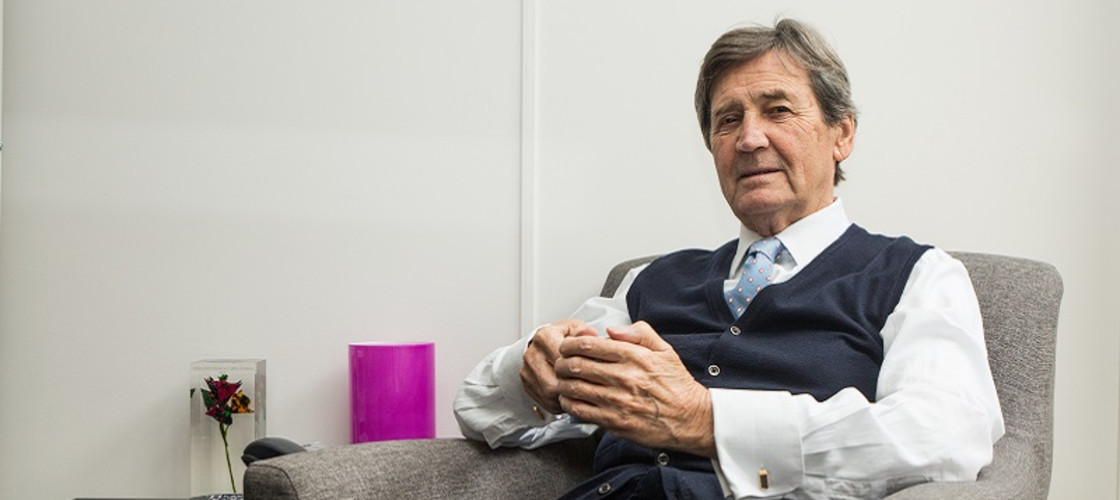 Melvyn Bragg is a veteran broadcaster