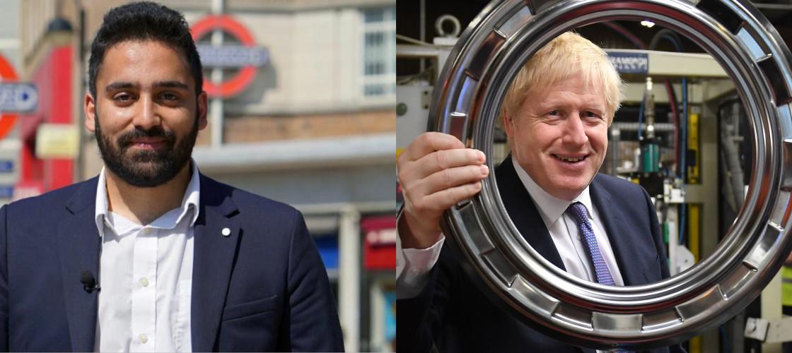 Ali Milani Boris Johnson