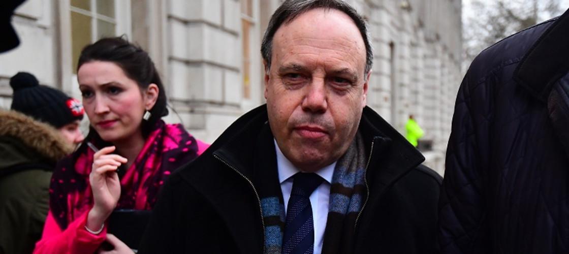 Nigel Dodds is the deputy leader of the DUP