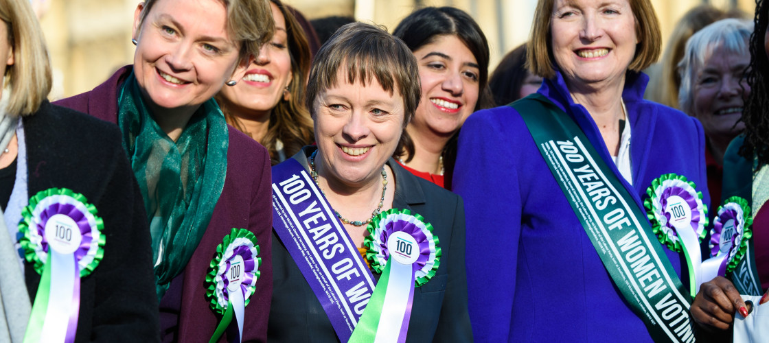 Labour Party 100 years of Women's Suffrage Campaign