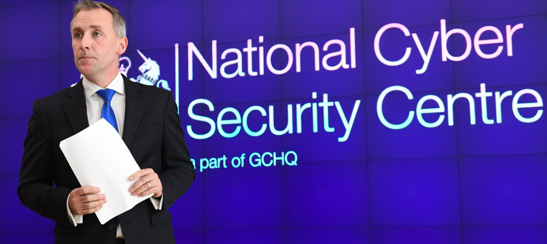 cyber security Ciaran Martin, head of the National Cyber Security Centre at the launch of the centre's second annual review in London.