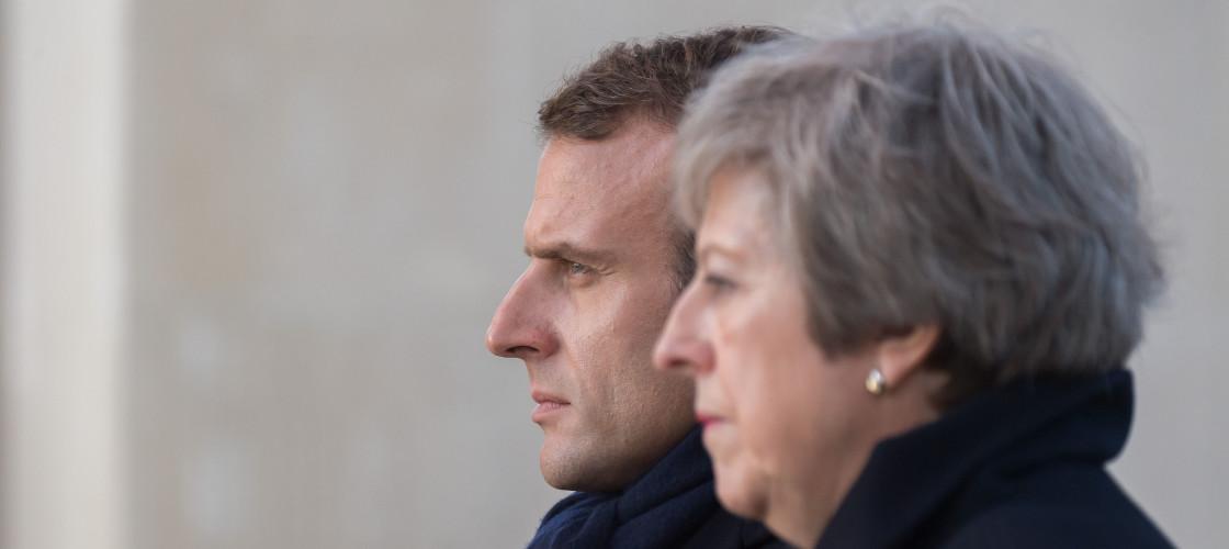 May and Macron
