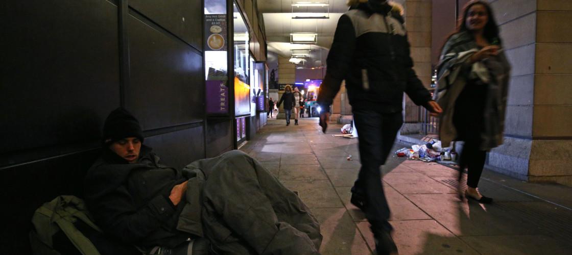 Westminster homeless