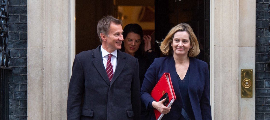 Jeremy Hunt and Amber Rudd