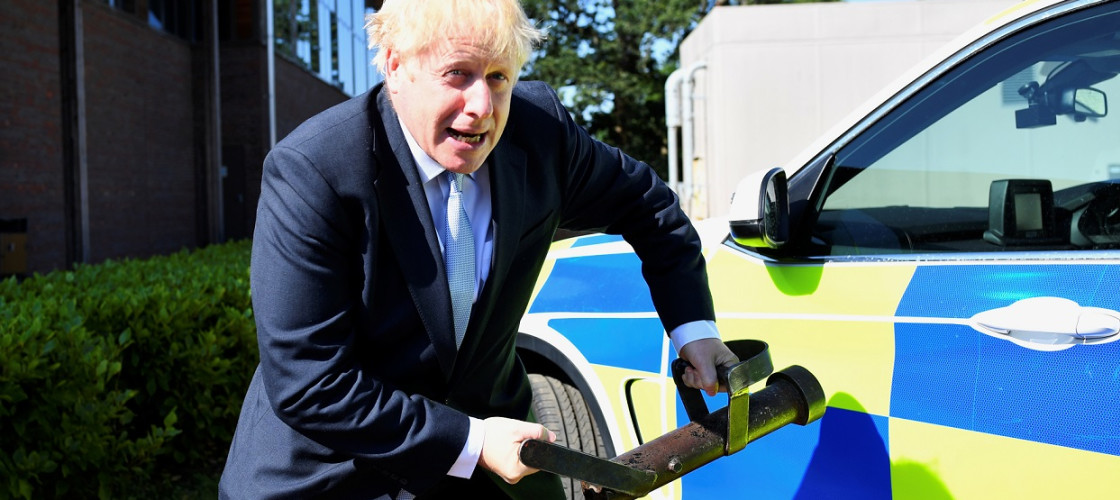 Boris Johnson police