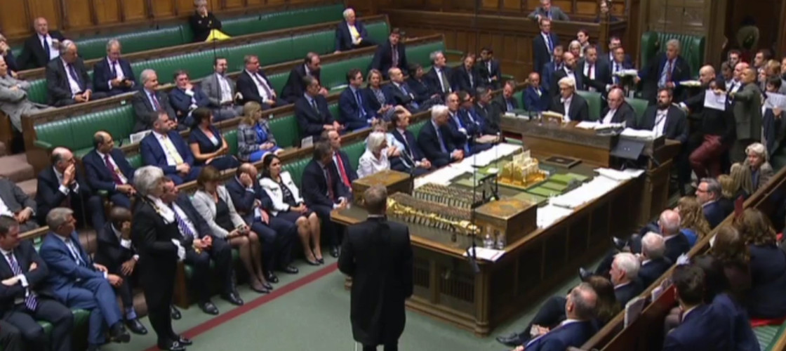 Prorogation ceremony in the House of Commons