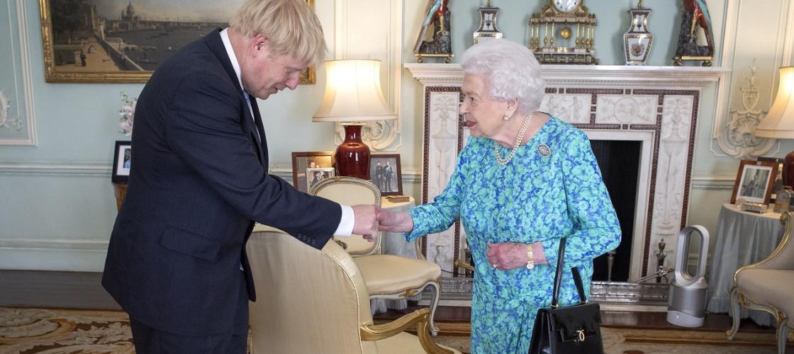 Boris Johnson Queen