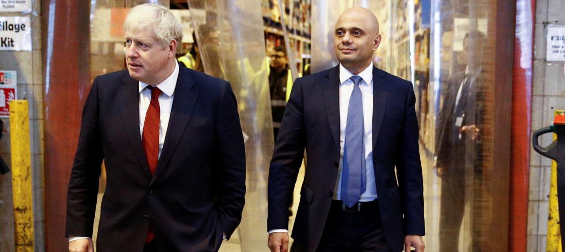 Boris Johnson Sajid Javid