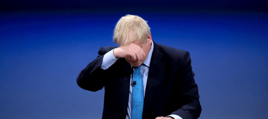 Boris Johnson conference