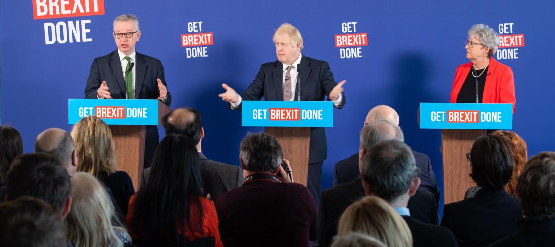 Boris Johnson, Michael Gove, Gisella Stuart