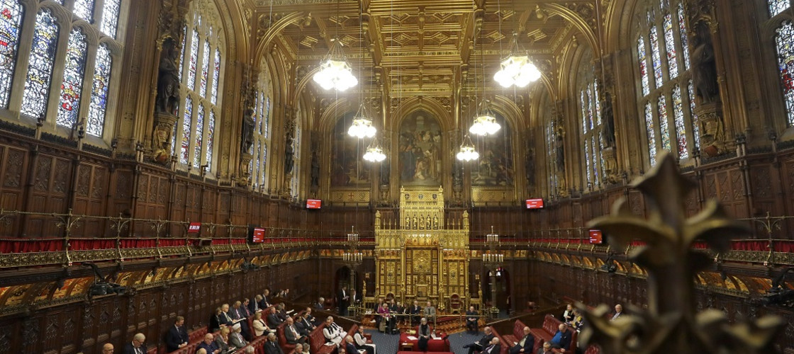 The House of Lords in London