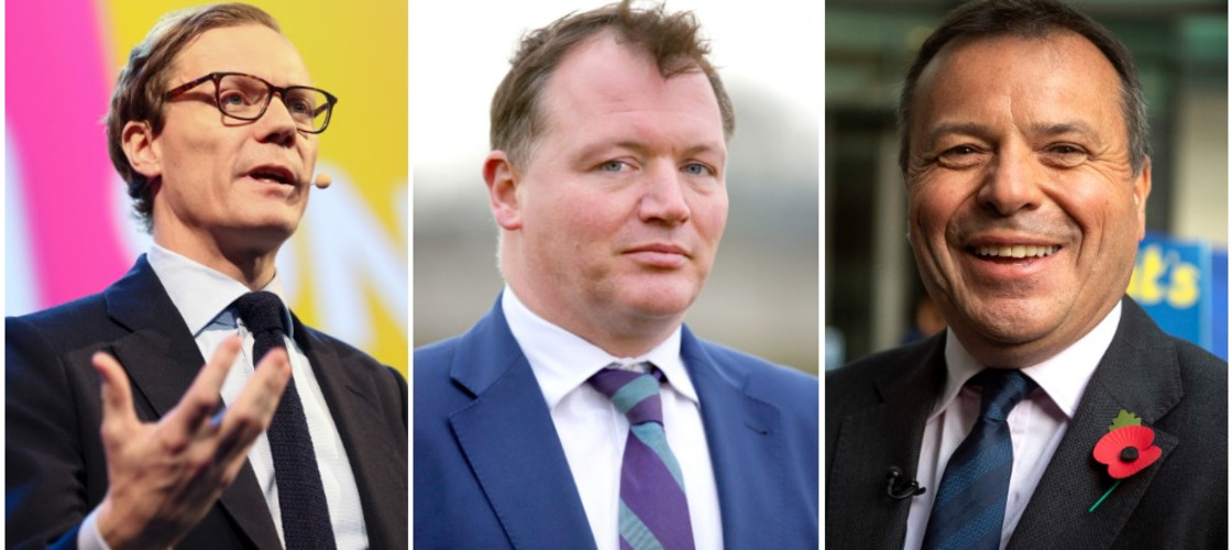 Alexander Nix, Damian Collins, Arron Banks