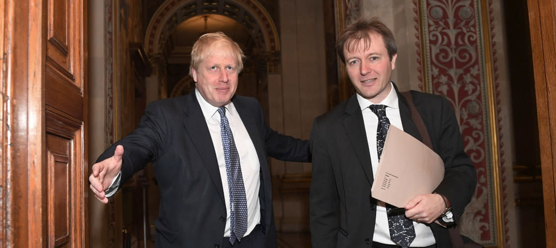 Boris Johnson and Richard Ratcliffe