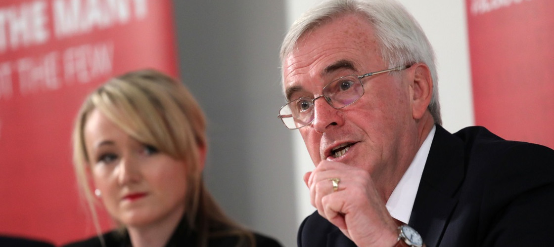 Rebecca Long-Bailey and John McDonnell