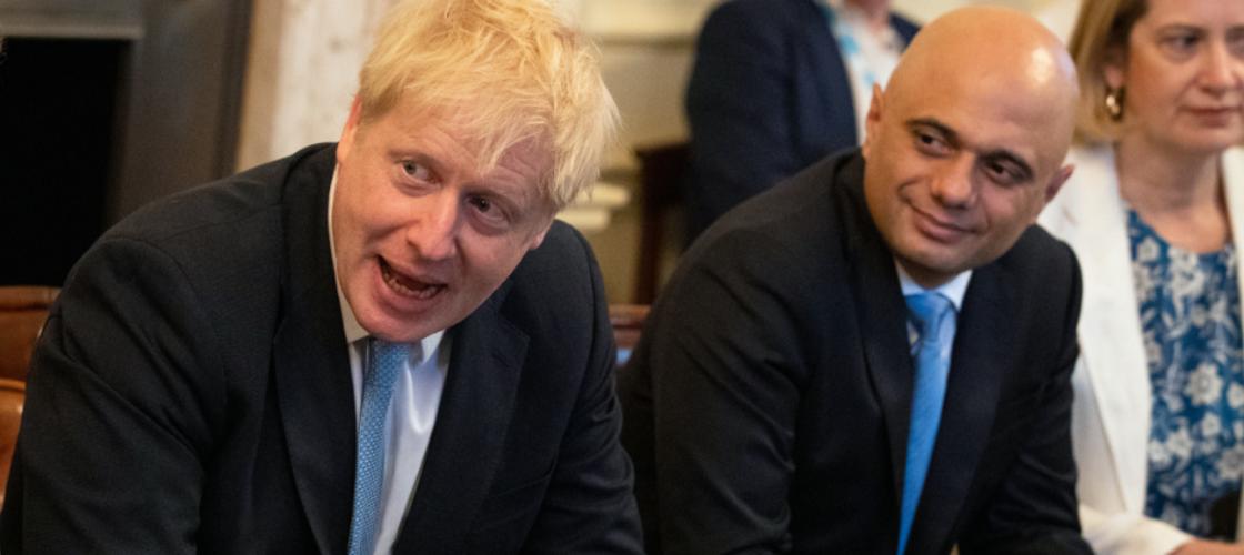 Boris Johnson and Sajid Javid