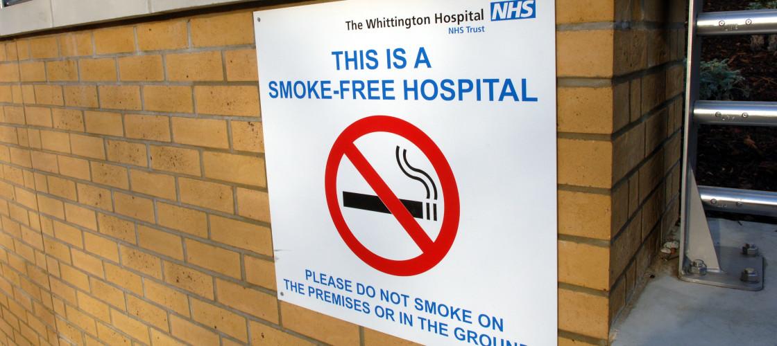 Smoke-free hospital