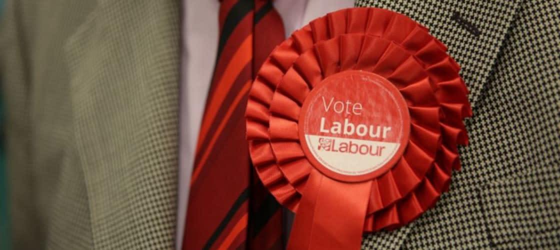 Labour rosette