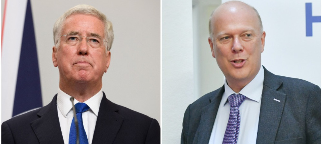 Michael Fallon and Chris Grayling