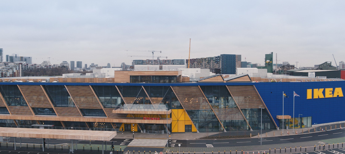 IKEA UK's Greenwich store