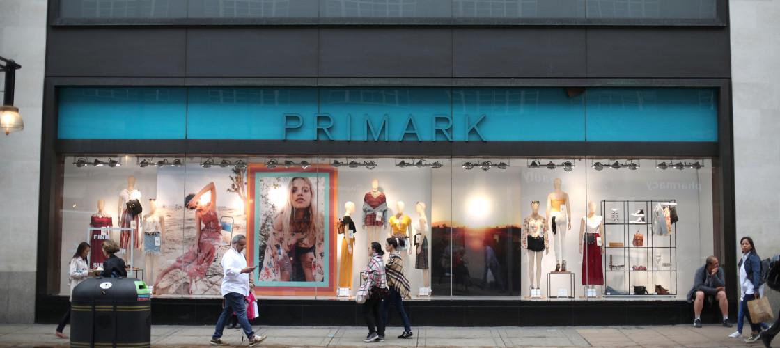 Clothing retailer Primark