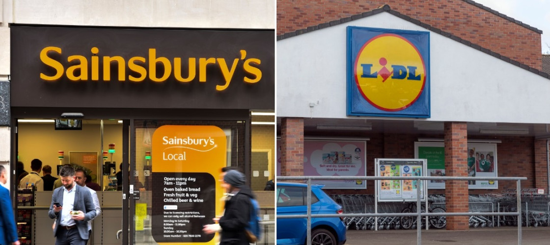 Sainsbury's and Lidl