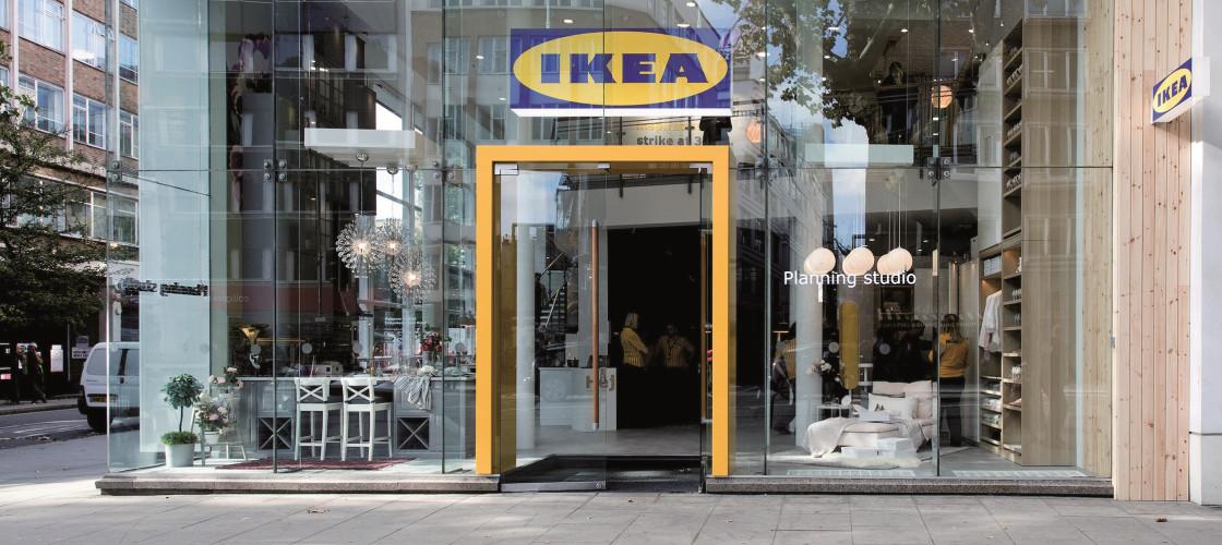 IKEA's Planning Studio in London's Tottenham Court Road