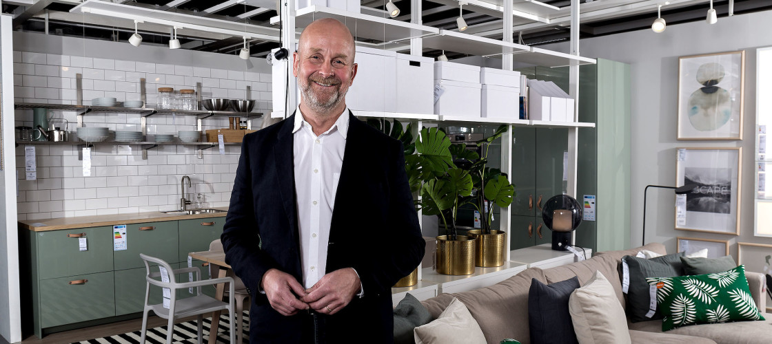 IKEA has appointed Peter Jelkeby as Country Retail Manager to lead the UK and Ireland business
