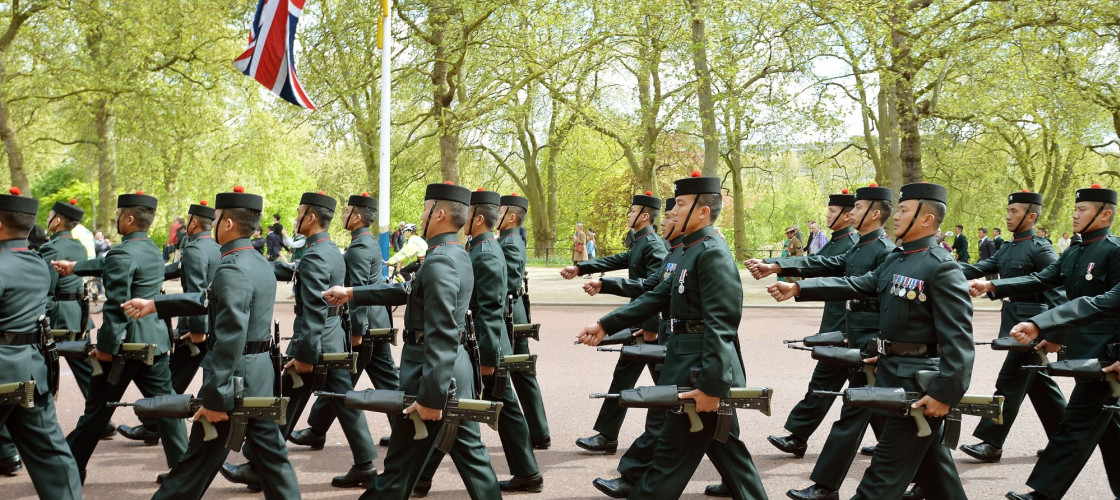 200th anniversary of Gurkha service