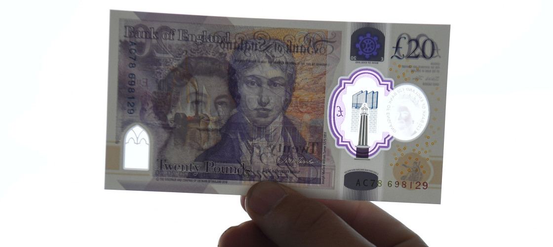 The new £20 note