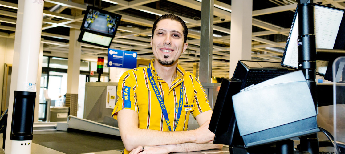 Over 90 IKEA stores in eight countries, including the UK, have started programmes supporting refugees