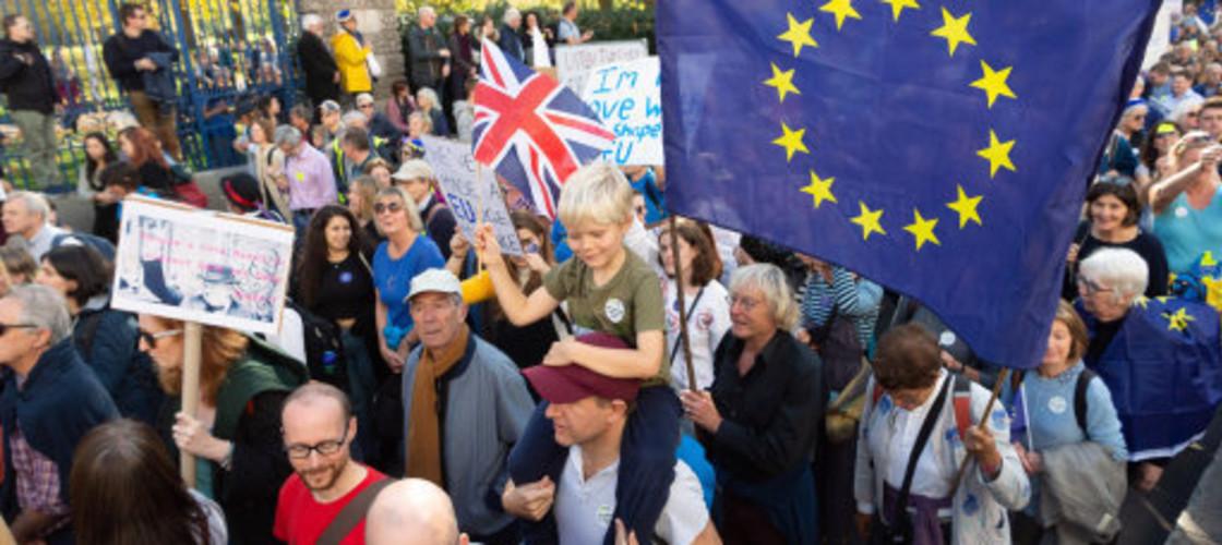 Referendum march