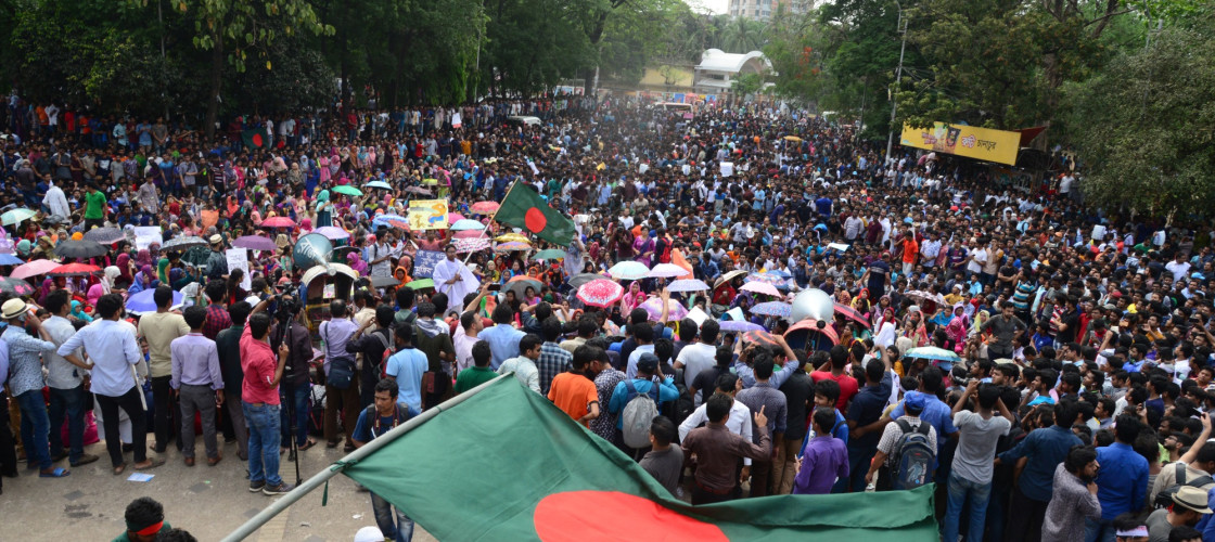 Protest in Bangladesh
