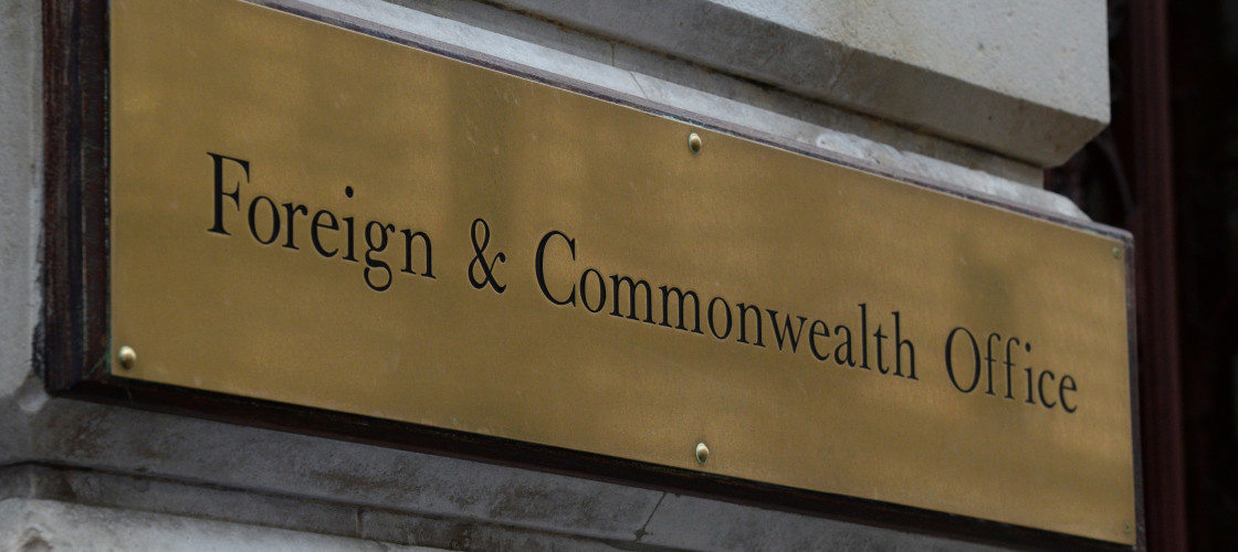 Foreign and Commonwealth Office sign