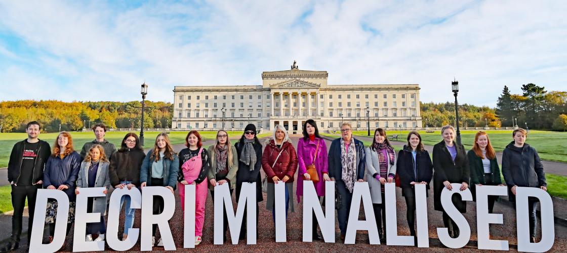 Northern Ireland pro-choice activists