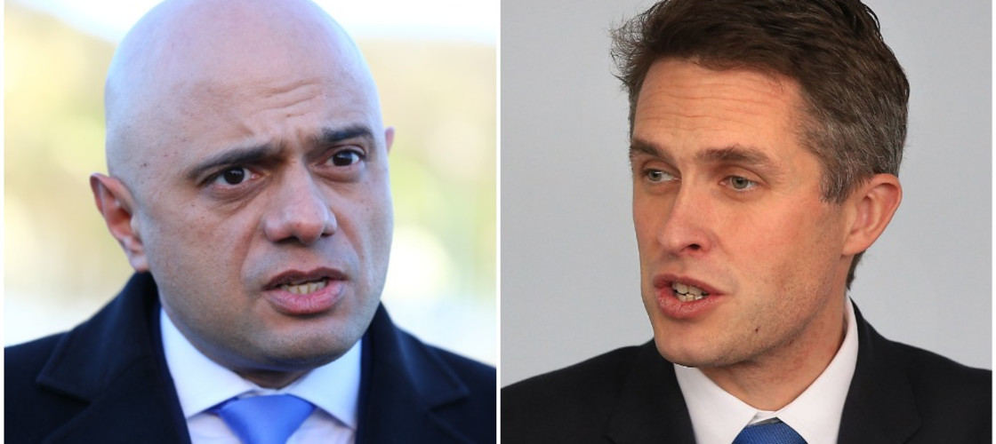 Sajid Javid and Gavin Williamson
