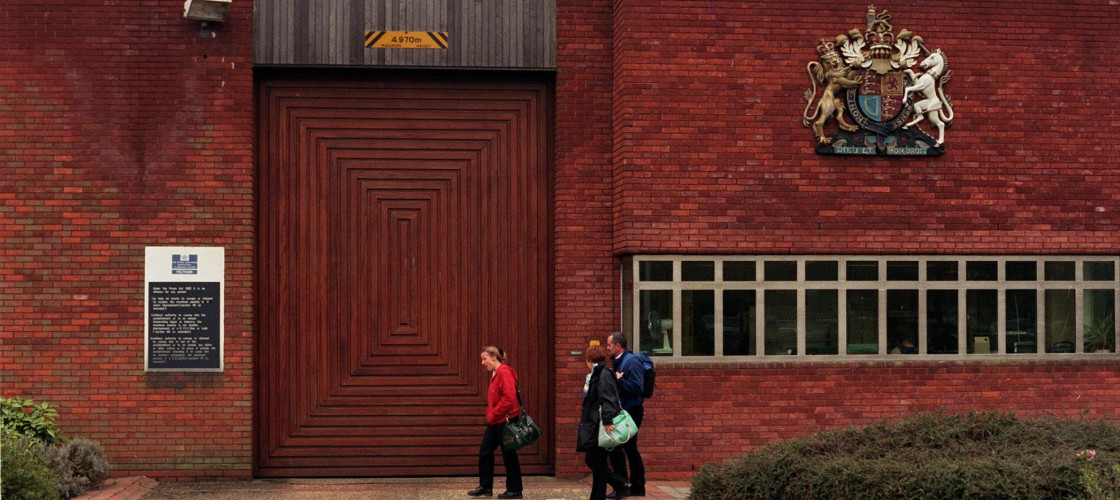 Feltham Young Offenders Institution in south-west London