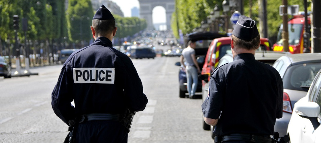 Police officers in France