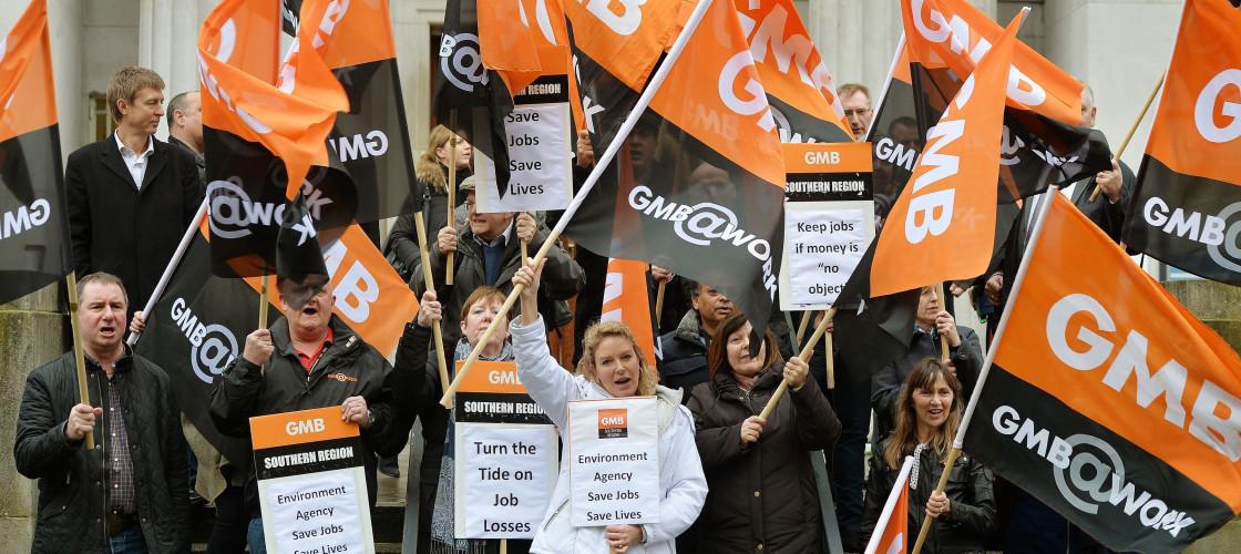 GMB union members