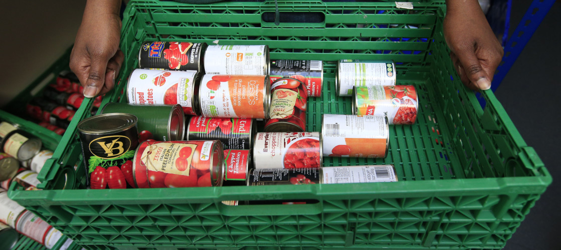 Image of a food bank