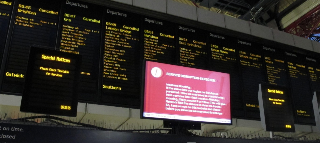 Southern Rail has been dogged by cancellations and delays for months