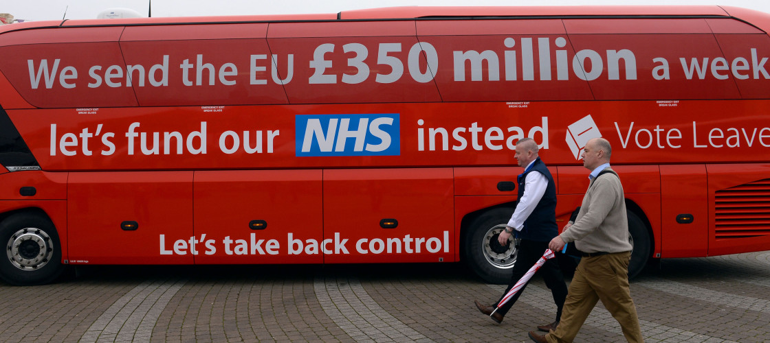 Vote Leave campaign bus